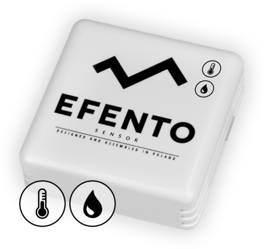 Efento BLE temperature and humidity sensor