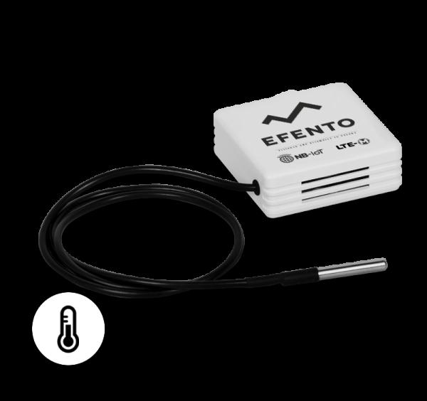 Efento LTE-M/NB-IoT low temperature sensor with external probe